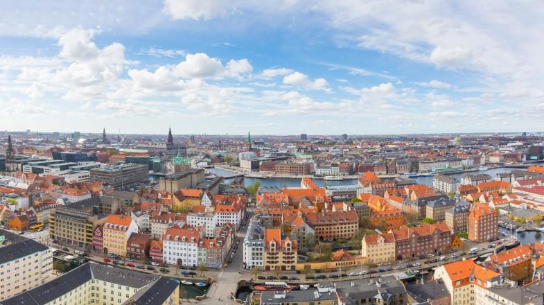 Copenhagen, Denmark's capital, the gateway to Scandinavia