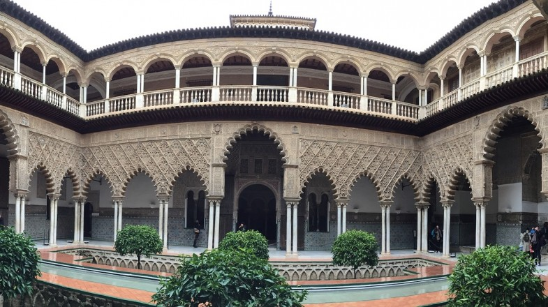 The crown jewel of Seville, the Real Alcázar, or the Royal Alcazar of Seville, is an outstanding complex full of intricate detail and excellent artistry.
