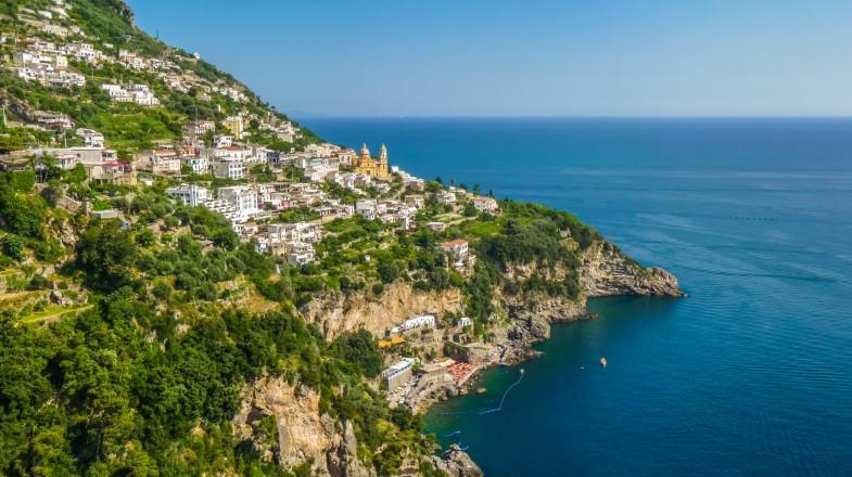 Amalfi, the heart of  Italian magnificent coastline