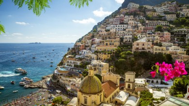 Amalfi Coast is one of the most amazing coast lines in Europe and a very popular holiday destination.