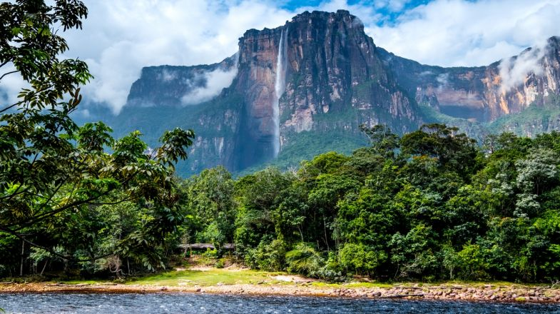 A trip to Venezuela should include a visit to Angel Falls