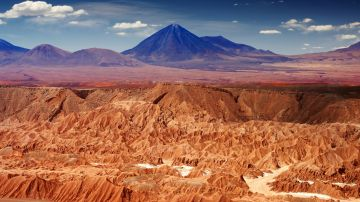The Atacama Desert in Chile maybe the oldest and driest desert in the world