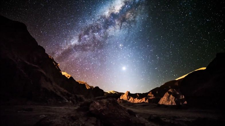 Atacama desert offers the most visible tapestry of stars, moons, galaxies, and other heavenly bodies that even the naked eye can enjoy