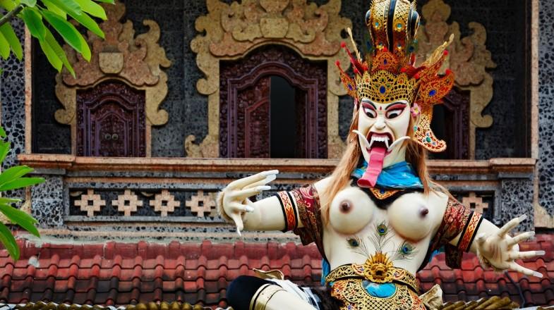 Seminyak has many temples including Pura Petitenget temple.
