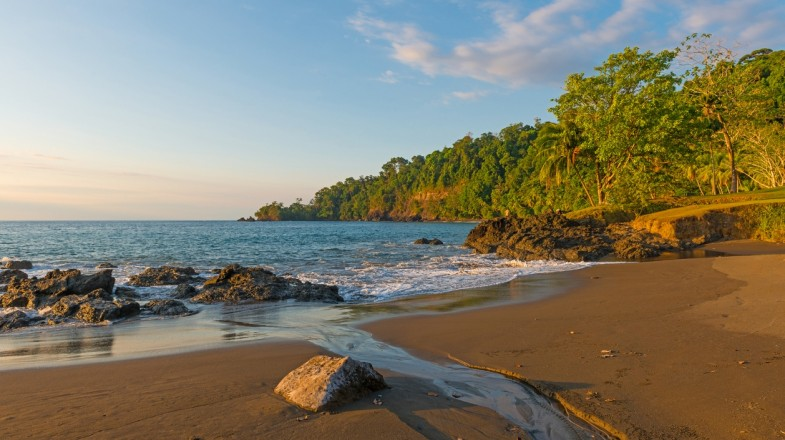 A beach in Corcovado National Park.