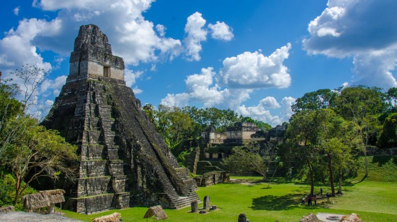 Home to the Maya civilization, Belize is covered in gorgeous, ancient ruins.