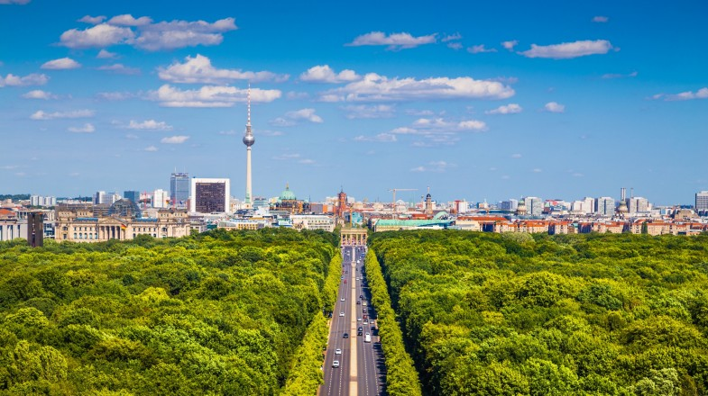 Tiergarten is the largest and most famous of the many parks in Berlin