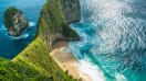 Manta Bay is one of the best beaches in Bali