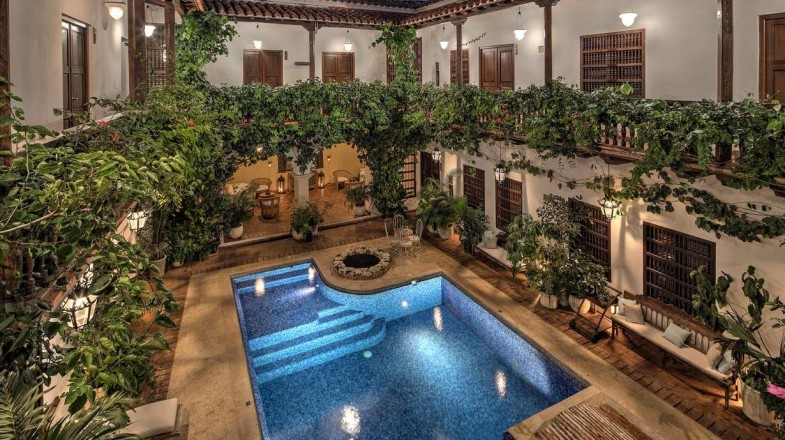 Hotel Casa del Arzobispado is one of the best hotels in Colombia