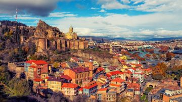 Tbilisi, the capital of Georgia, makes for a charming getaway