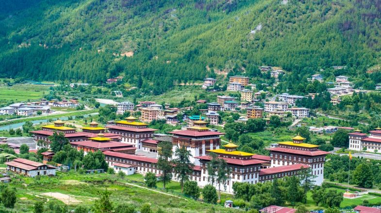 Bhutan is a hiker's paradise, perhaps best known for its dramatic landscapes, steep cliffs and Himalayan peaks.