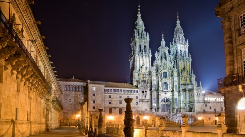 The Camino de Santiago, also known as 'the Way of St James', is a renowned pilgrimage that ends at Santiago de Compostela.