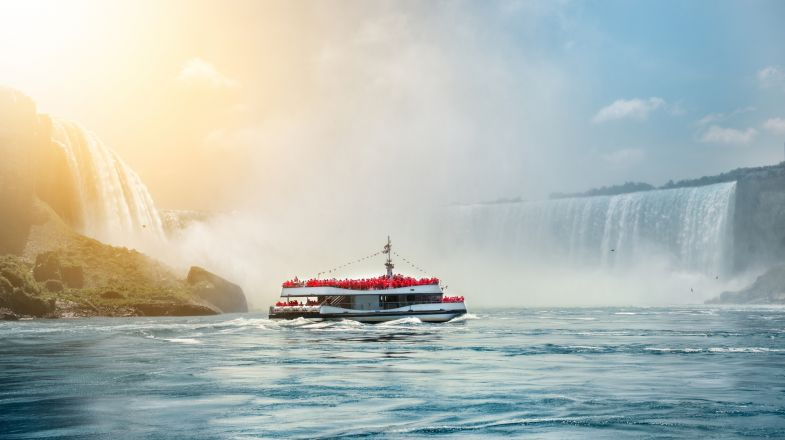 While you can witness the spectacular Niagara falls from Canada as well as the USA, it is true that the view of the fall from Canada is much more beautiful.