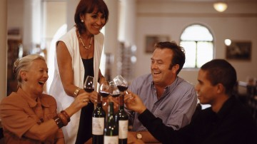 Wine tasting in Cape Town includes visits to centuries old wineries, rich with folklore and historic artefact, as well as tastefully modern establishments.