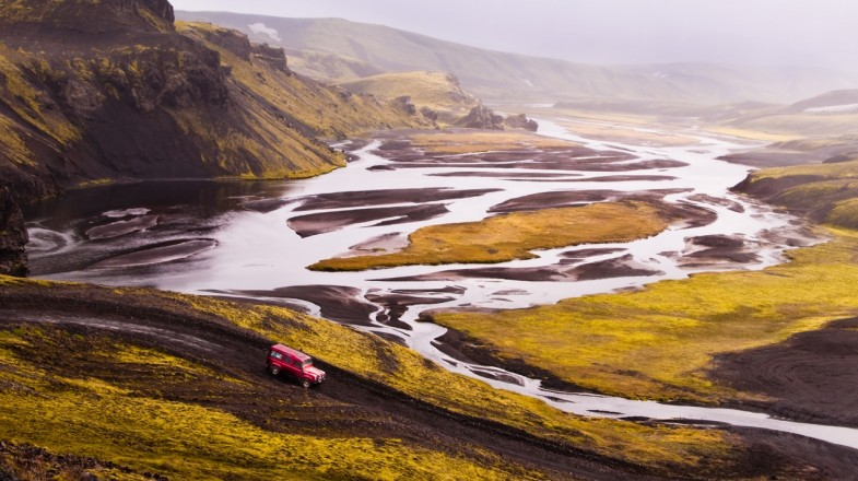 Renting a car in Iceland is an easy three step process