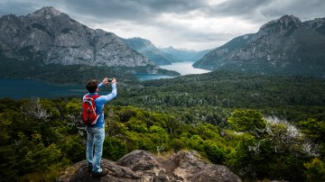 For the ease of a hike, Cerro Llao Llao avails an the amazing reward — breathtaking 360-degree summit views over Patagonia and Nahuel Huapi National Park.