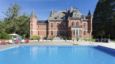 Chateau Histoire in Midi Pyrenees in France