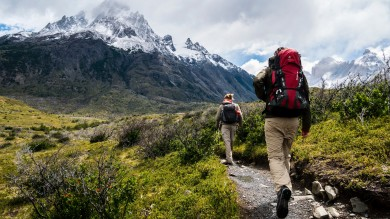 Adventure-seeking holiday goers from around the world flock to Chilean Patagonia to complete the Torres del Paine treks.