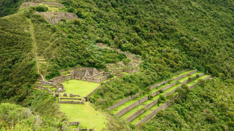 The Choquequirao trek is an alternative to the Inca Trail