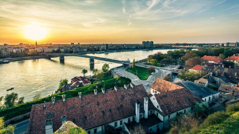 Cityscape of Novi Sad