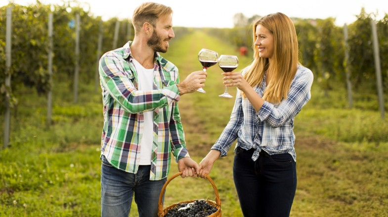 The Colchagua Valley allows travelers to take in the great outdoors whilst sipping on a glass of mouth-watering Chilean wine.