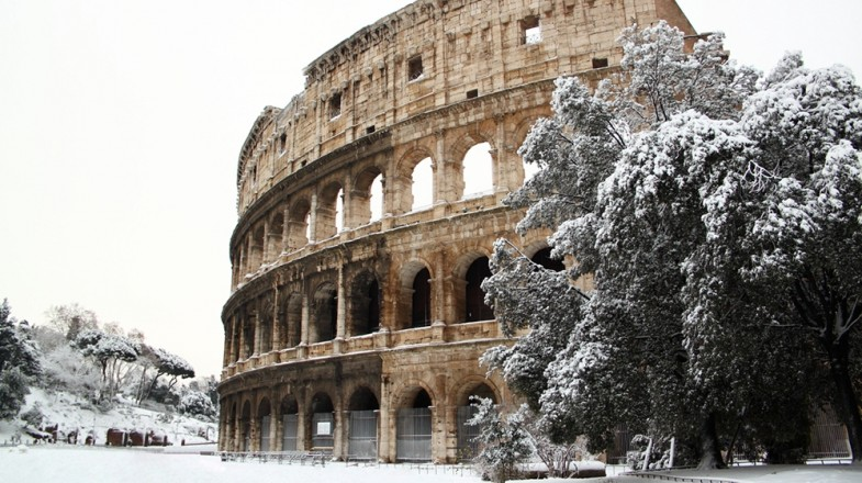 Winter in Rome