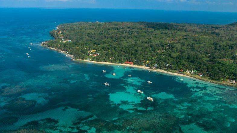 Corn Island,  a tropical unspoiled island paradise