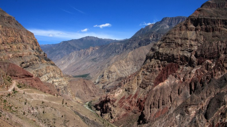 Cotahuasi Canyon in Peru is the world's deepest gorge