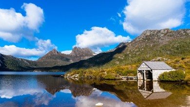 Hiking up to Dove Lake and Cradle Mountain is a great way to start on your list of Things to Do in Tasmania.