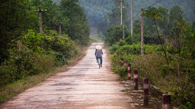 Cycling in Vietnam opens up many different routes to enjoy