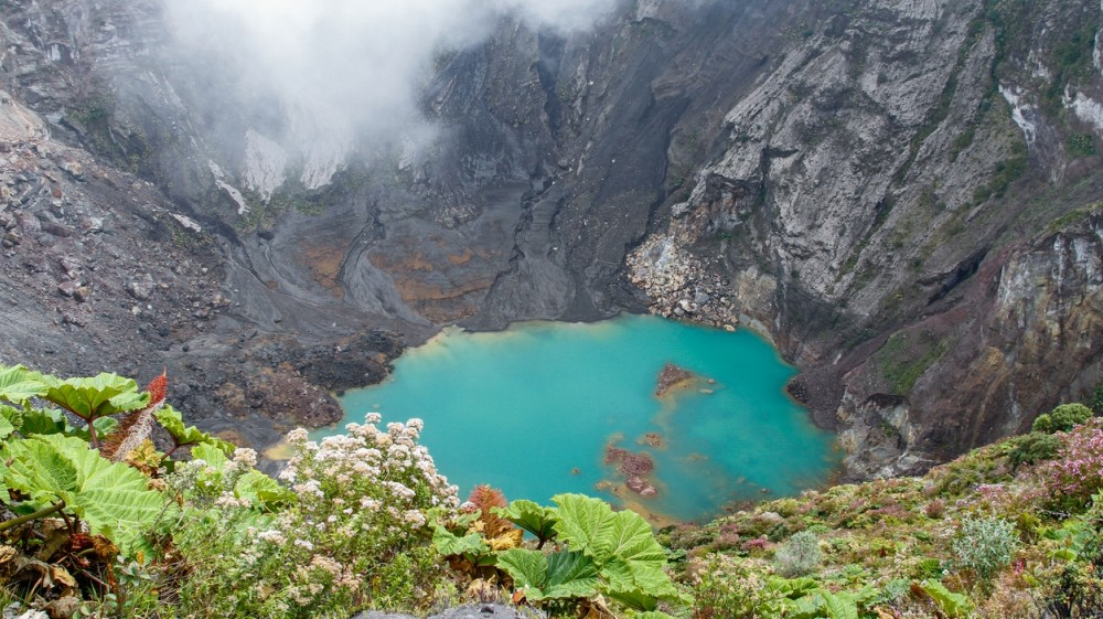 Best Day Trips From San Jose Costa Rica It Takes About An Hours Drive From San Jose To Reach Irazu Volcano National Park
