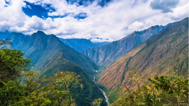 Dead Woman's Pass is the highest point on the Inca Trail