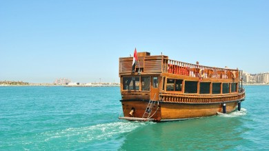 Taking a Dhow Cruise in Dubai is a fast and easy way to discover the city