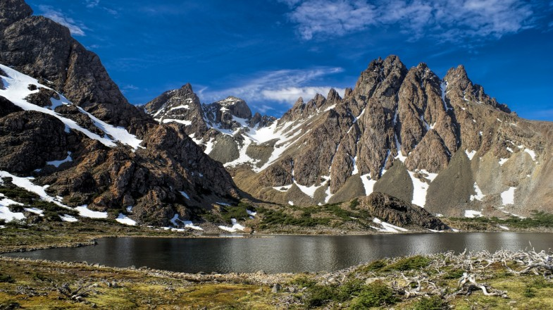 Isla Navarino is home to some of the most spectacular scenery in South America and features one of Chilean Patagonia's most gruelling treks – the Dientes de Navarino