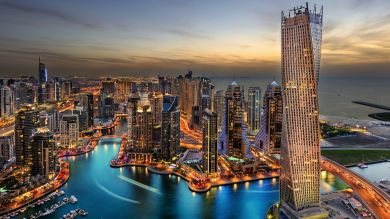 The best time to visit Dubai is between November and March