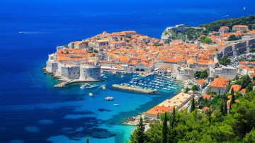 Dubrovnik in Croatia is a prominent tourist destination and this medieval city is a must-include  in every Croatia itineraries.
