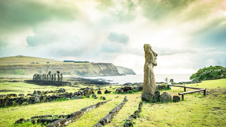 While getting to Easter Island isn't easy, the rewards the island offers - the views, the moai statues, the ocean, and more