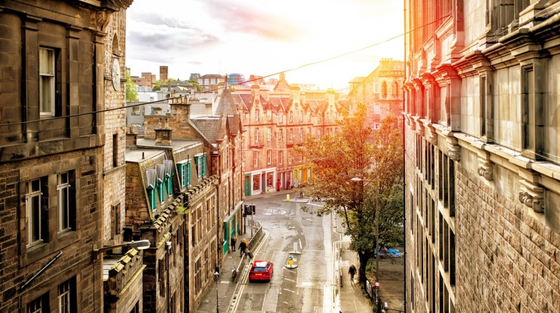 A trip to Edinburgh will take you through its quaint streets