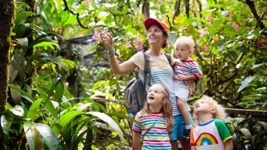 With its rainforests, beaches and adventure activities, Costa Rica is a great escape for the entire family.