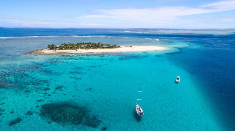 Tours in Fiji are incomplete without touching its waters