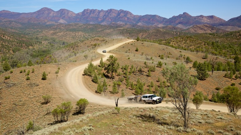 Flinders Ranges is situated in the Australian Outback of Southern Australia and is a landscape dating 600 million years old.