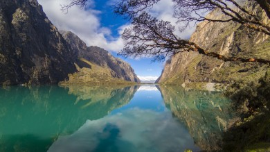 You can take a plane or a bus from Lima to Huaraz