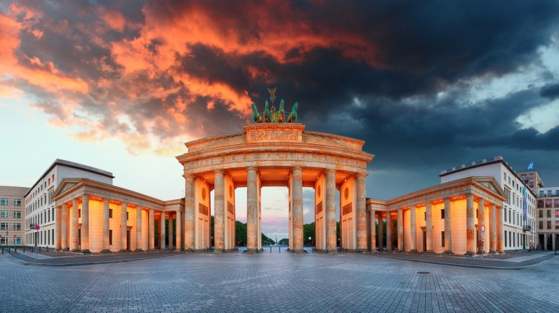 The Brandenburg Gate is one of the most popular Germany tourist attractions