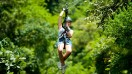 Ziplining is among the numerous activities you will find for an adventure in Costa Rica