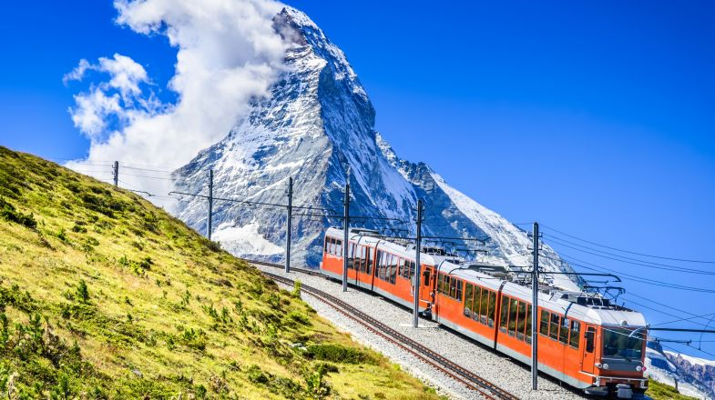 Gornergrat Bahn, the Matterhorn Railway