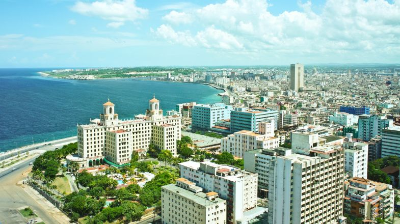 Havana, the capital city and leading commercial centre of Cuba