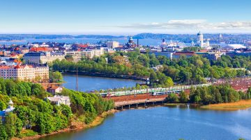 Helsinki, a vibrant city known for Finnish design