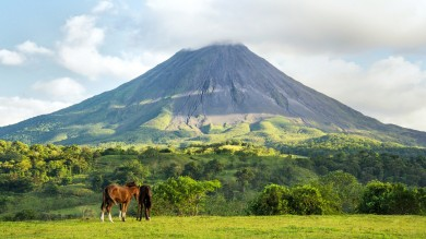 Located within or near the national park, Arenal Volcano has a lot of great Arenal hotels to choose from.