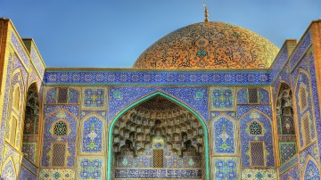 Sheikh Lotfollah Mosque and its beautiful serenity