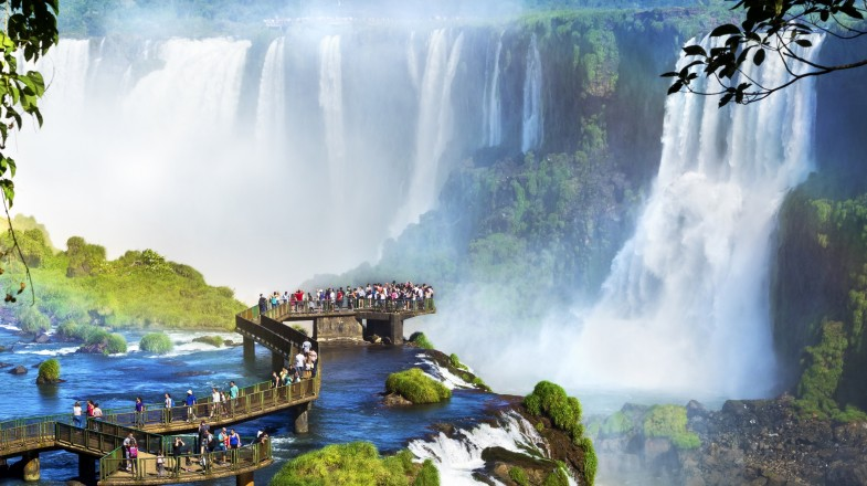 Iguazú National Park is one of the most stunning and interesting parks in South America.